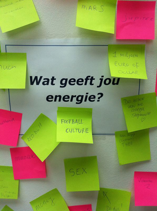 wat geeft energie