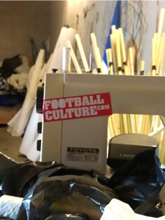 footballculture naaimachine