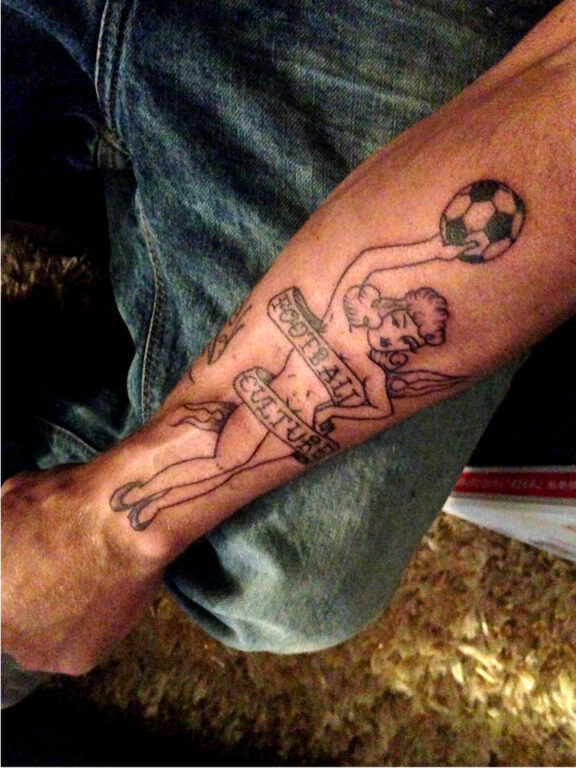 footballculture tattoo