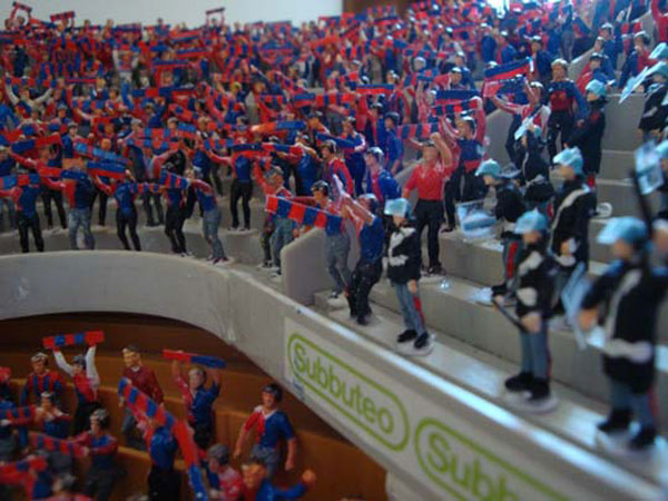 Subbuteo supporters