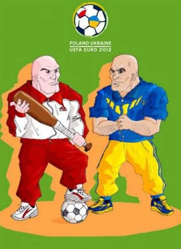 mascotte uefa 2012