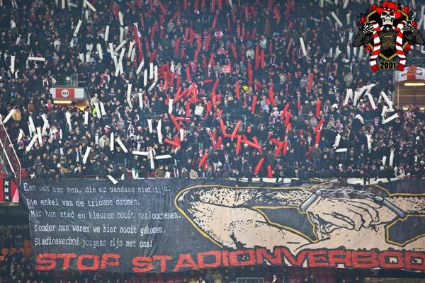 vak410 stadionverboden