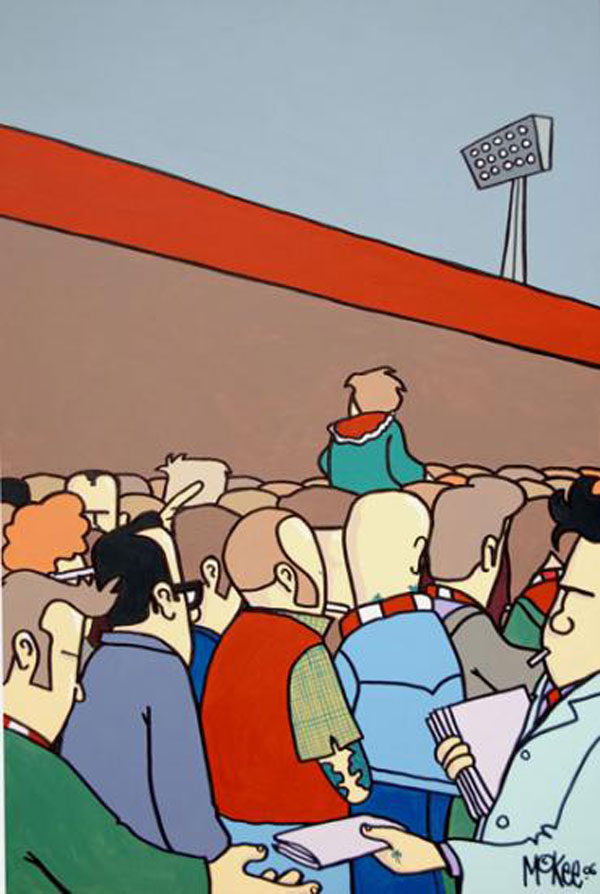 pete mckee sound of the crowd a