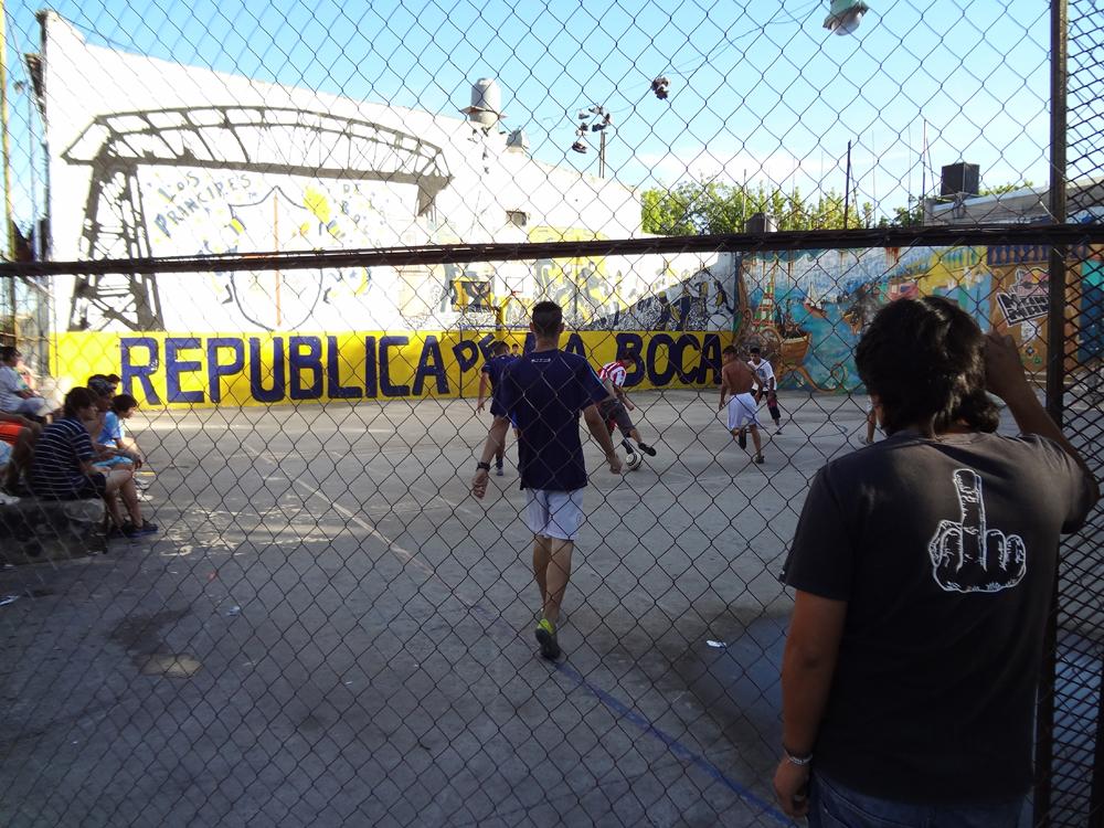 laboca voetbalveld