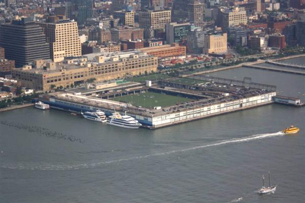 nyc pier40 soccerfield