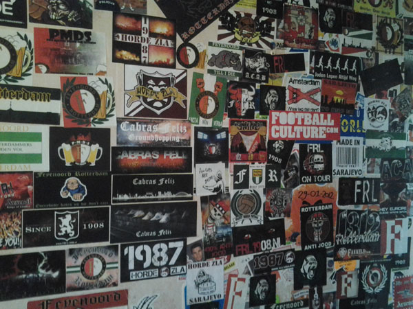 feyenoord stickermuur