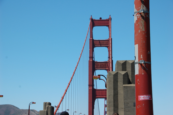 goldengatebridge footballculture