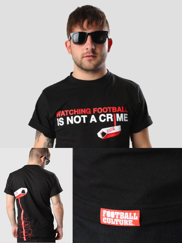 WatchingFootballisnotaCrime shirt fashion