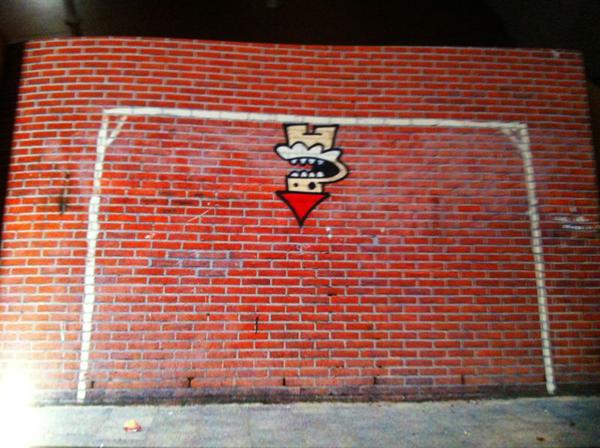 kbtr utrecht voetbalgraffiti