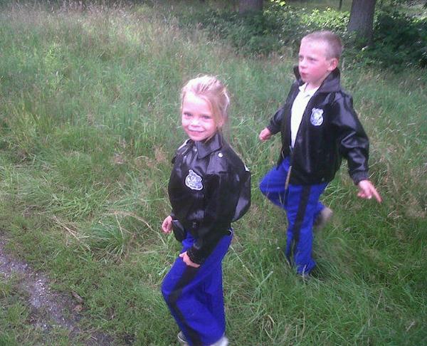 politie kinderen
