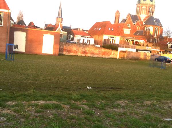 hoornvoetbalveld