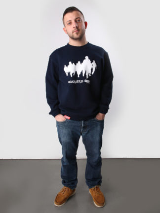 Awaydays Crewneck - navy - Sold Out