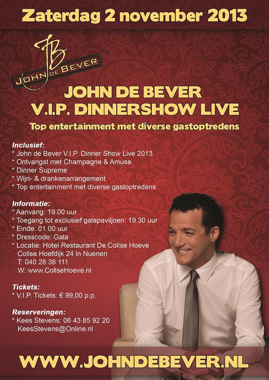 John-de-Bever-V.I.P.-DinnerShow-Live-2013-Flyer