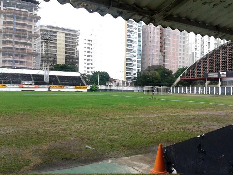 Hier traint de jeugd van Botafogo