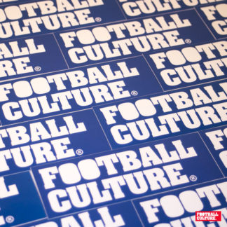 FootballCulture stickers blue