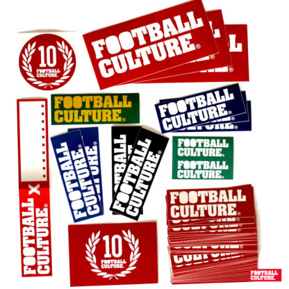 footballculture sticker packs