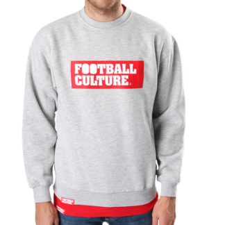 Boxlogo heather crewneck