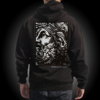 The face hoodie